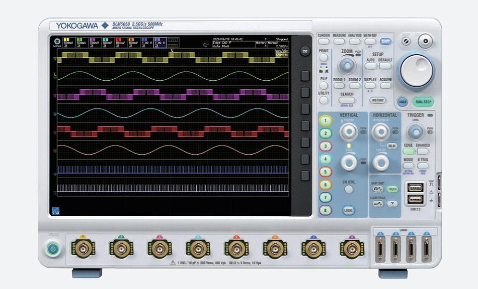 Oscilloscope DLM5000 de Yokogawa