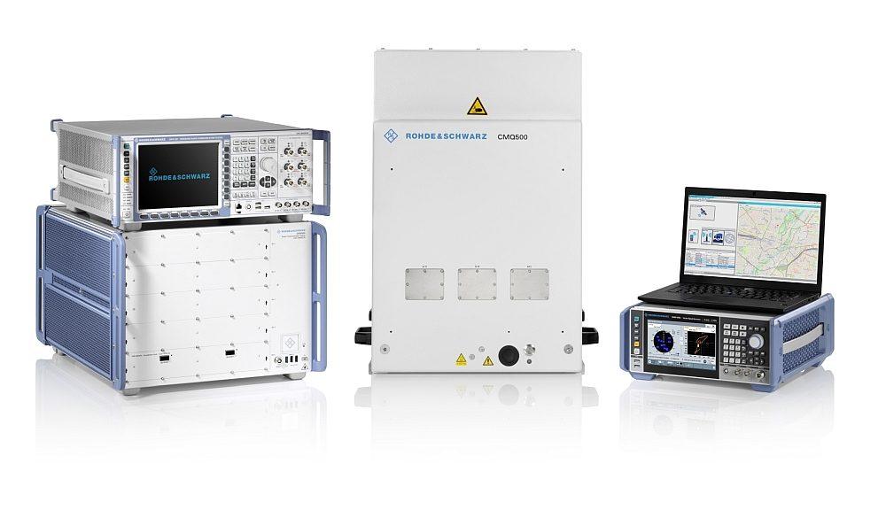 Système de test de téléphonie mobile TS-LBS de Rohde & Schwarz