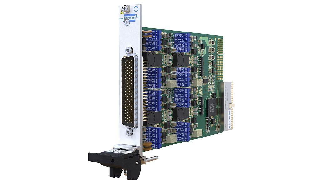 Module PXI 41-765 pour la simulation de boucle de courant de Pickering Interfaces