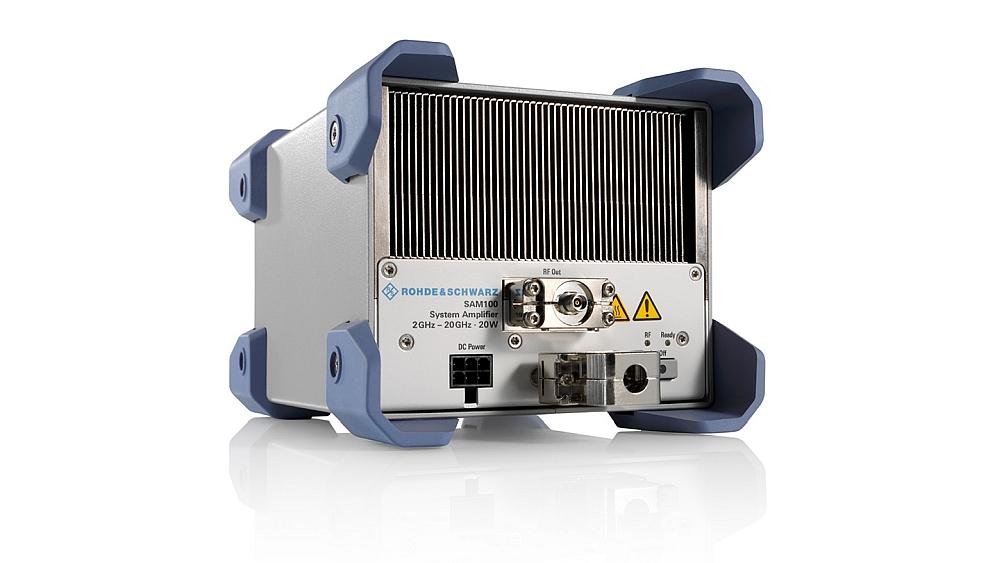 Amplificateur hyperfréquence SAM100 de Rohde & Schwarz
