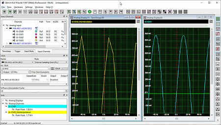 Fonction d'interpolation avec logiciel SBench 6