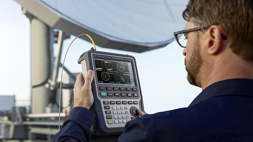 Analyseur de réseau vectoriel portable R&S ZNH de Rohde & Schwarz