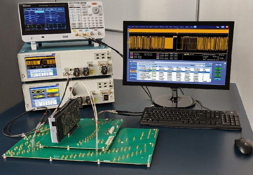 Solutions de test PCIe 5.0 de Tektronix