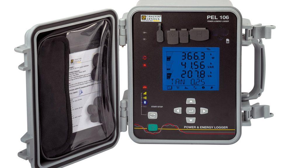 Enregistreur électrique PEL106 de Chauvin Arnoux