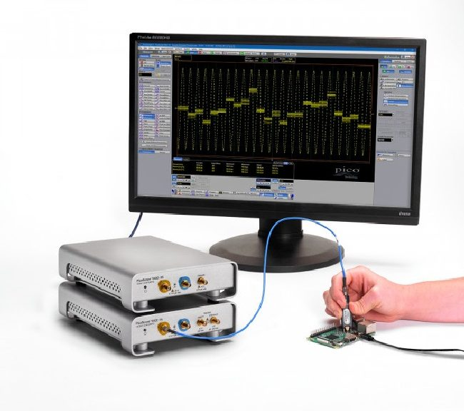 Modules oscilloscopes PicoScope 9402-05 et 9402-16
