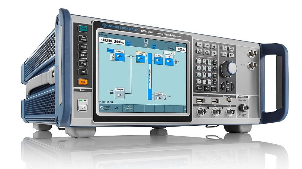 Générateur de signaux vectoriels SMM100A de Rohde & Schwarz