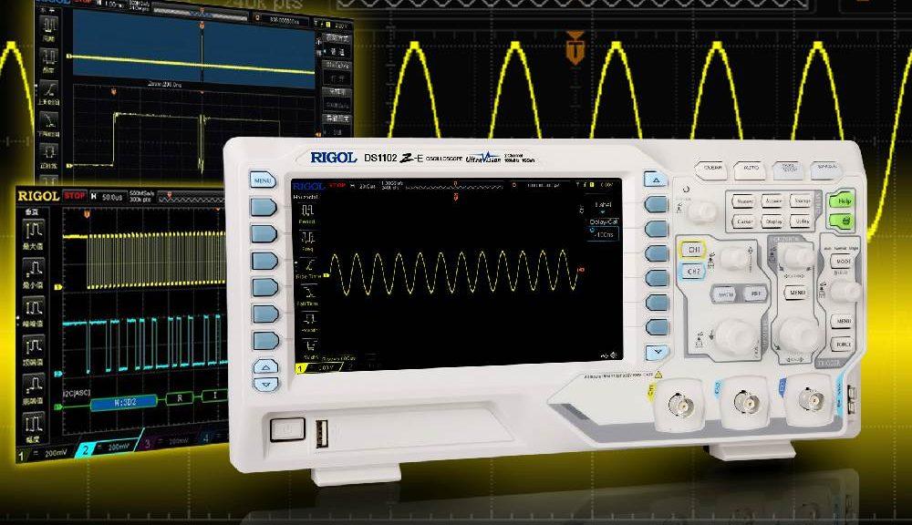 Oscilloscope DS1102Z-E de Rigol