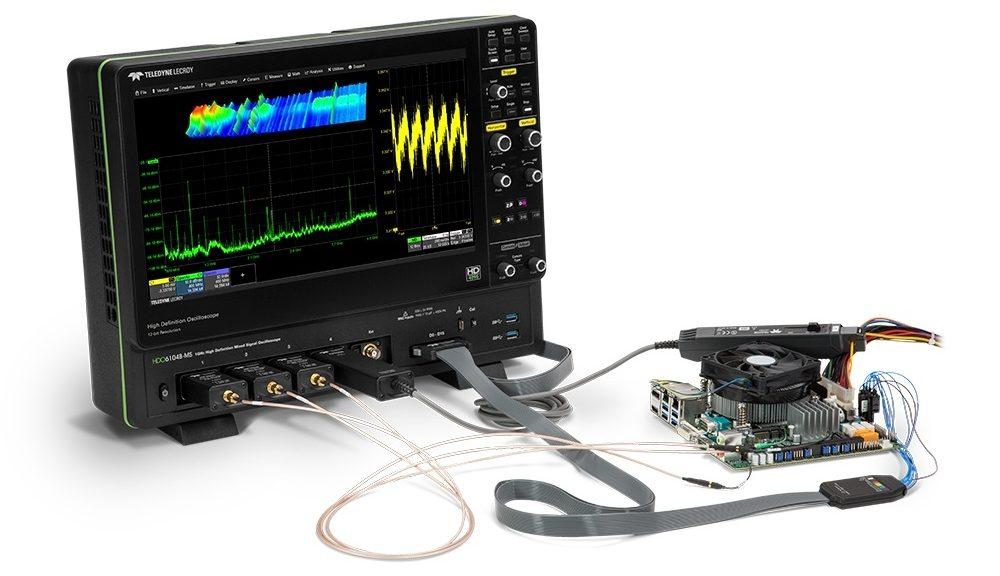 Oscilloscope HDO6000B de Teledyne LeCroy
