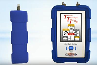 Réflectomètre optique FTE-7100 MICROTDR de Terahertz Technologies Inc. (TTI)