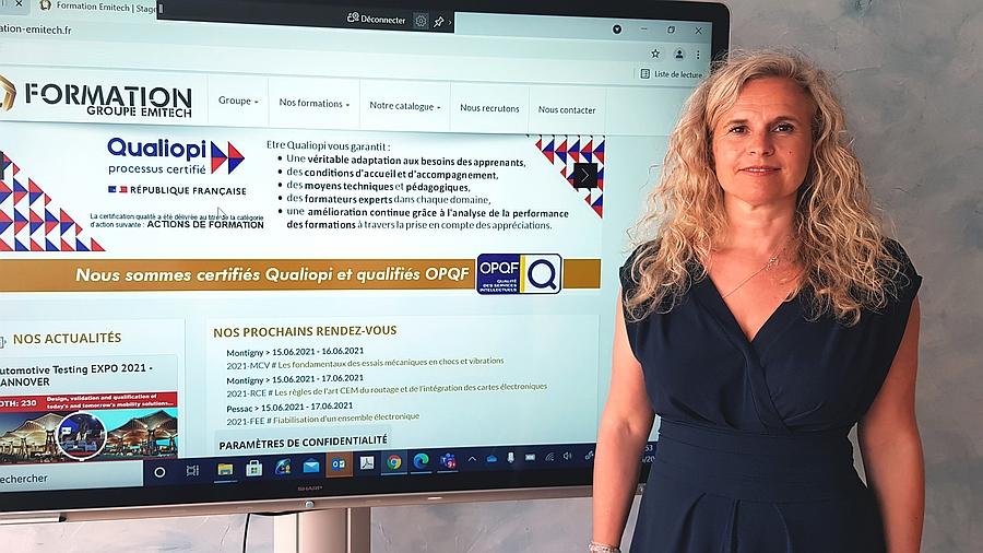 Isabelle Thénier Filannino, directrice pédagogique du Groupe Emitech