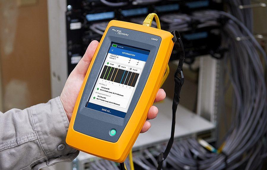 testeur de câble et de réseaux LinkIQ de Fluke Networks