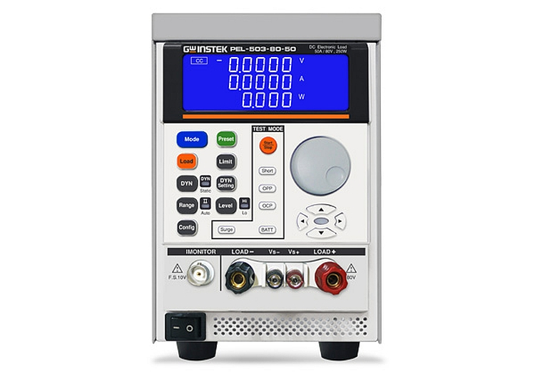 Charge électronique PEL-500 de GW Instek
