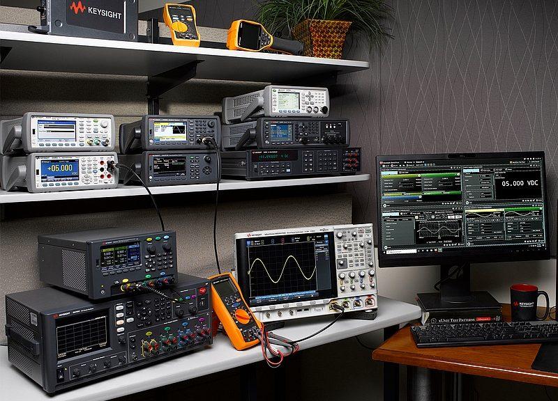 Gamme d'instruments de test électronique de Keysight
