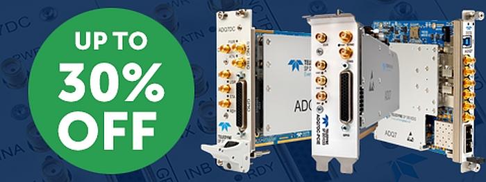 Promotion de Teledyne SP Devices sur numériseurs