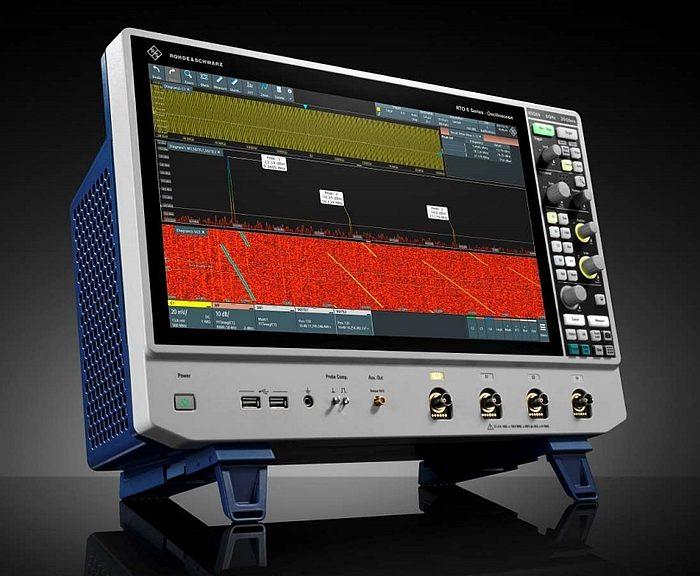 Oscilloscope R&S RTO6 de Rohde & Schwarz
