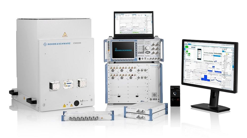 Solutions de test des appareils 5G NR de Rohde & Schwarz