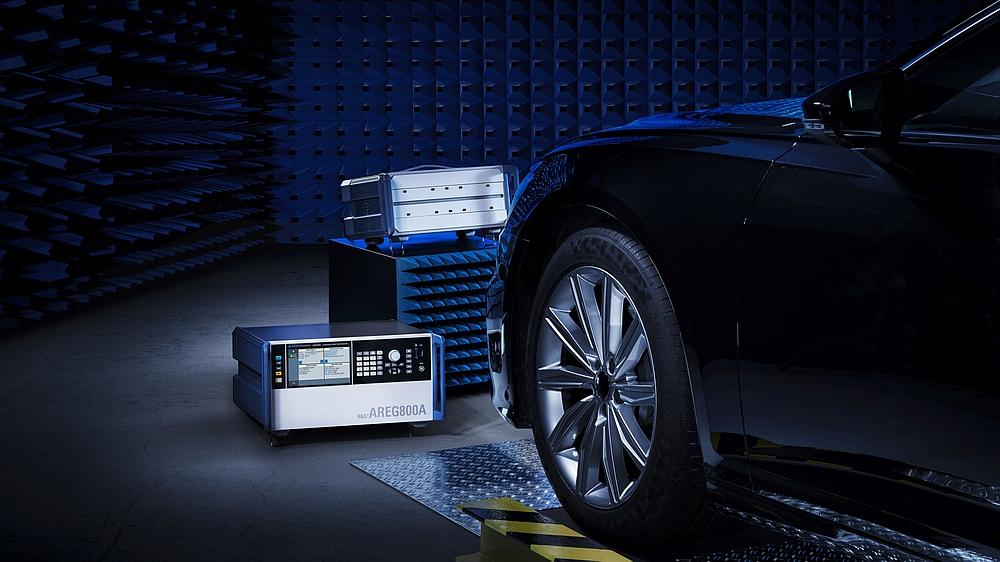 Système de test de radars automobiles RTS de Rohde & Schwarz