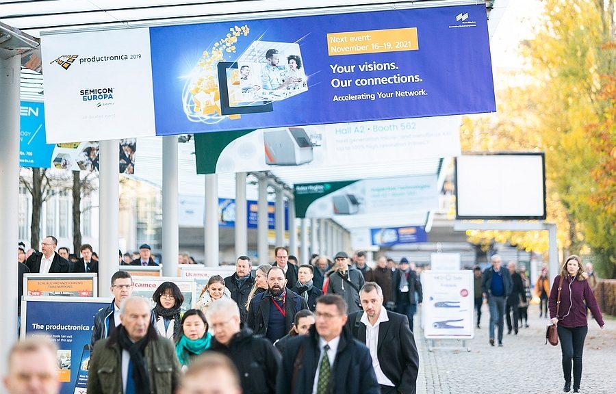 Salon Productronica à Munich